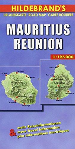 Mauritius /Reunion: 1:125000. Mit praktischen Reisetips. Dt. /Engl. /Franz.