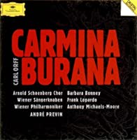 Orff: Carmina Burana by Andre Previn (2011-09-07)