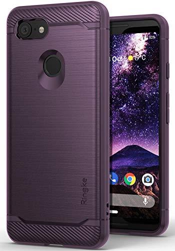 Ringke Onyx Entwickelt für Google Pixel 3 Hülle, Silikon TPU Stoßfest Dünn Kratzfest Panzerhülle - Lilac Purple Lila
