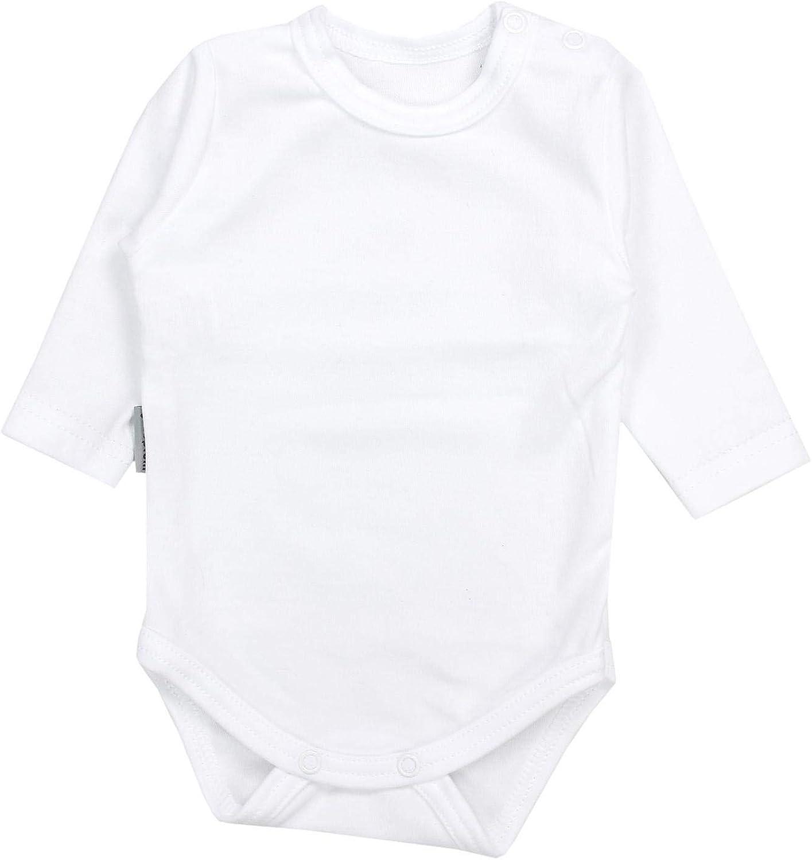 TupTam Baby Unisex Langarm Body mit Aufdruck Spruch 5er Pack