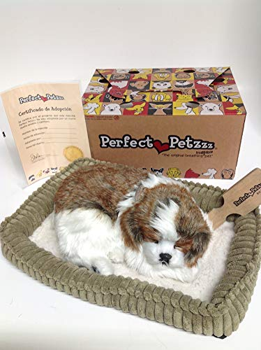 Perfect Petzzz Huggable Breathing Puppy Dog Pet Bed Shih Tzu by Perfect Petzzz