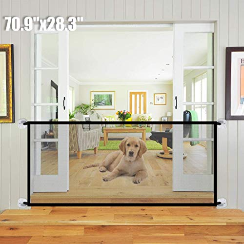 Kensonic 70.9''x28.3'' Magic Gate for Dogs