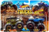 HW Monster Trucks Demolition Doubles Bone Shaker VS Rodger Dodger