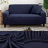 LINL Sofá Cama Jacquard protección sólida y setos Gruesos para Cubrir sofá Viviente para sofá Impreso,Armada,1 90-140cm Asientos