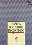 Análisis documental de contenido: procesamiento de la información (Ciencias de la información)