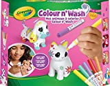 Crayola Color'N'Wash pets-Mes Animaux à Colorier-Kit Chien et chat, 74-7265-F000