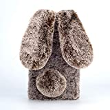 Case for OPPO Reno2 Z, KANTAS Fluffy Bunny Case Lovely