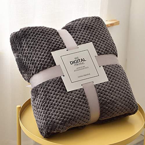 OldPAPA Manta de forro polar de franela, súper suave, manta de TV, manta de sherpa ultra afelpada para sala de estar, sofá y cama