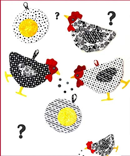 Which Came First? Chicken Mitts & Hot Pods Pattern by The Sweet Tea Girls - STG-0107 Potholders