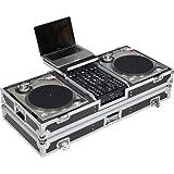 Walkasse WM-DJ10B LTS Maleta 2 Platos + Mezclador 10' Stand Laptop