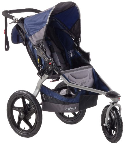 BOB Revolution SE Single Stroller, Navy