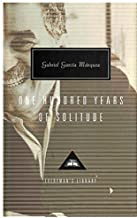 One Hundred Years Of Solitude (Everyman's Library Classics) by Gabriel Garcia Marquez (21-Sep-1995) Hardcover