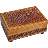 Enchanted World of Boxes Waved Motif Full - Secret Box