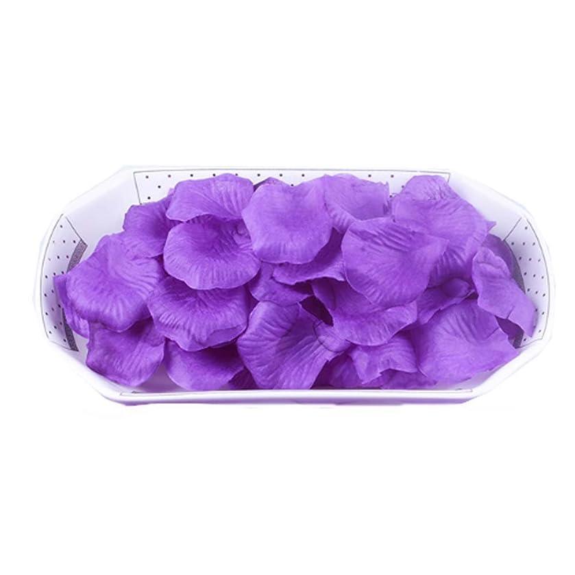 ピッチャーヤギ激しい結婚式の装飾のための人工花の花びら紫2000 PC
