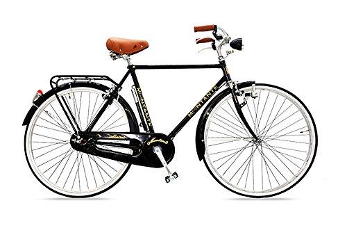 MONTANTE CICLI Roma Uomo, City Bike, Nero, M