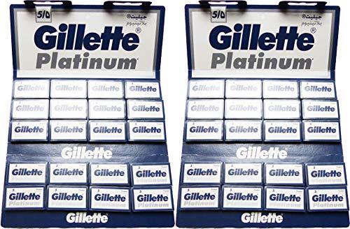 Lamette da barba Gillètte Platinum (Confezione da 200 lame di rasoio)