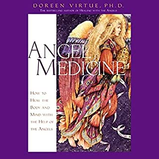 Angel Medicine audiobook cover art