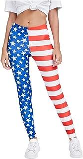4th of July Leggings for Women - USA American Flag Patriotic Leggings