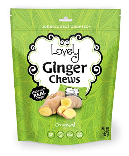 Ginger Chews (Original, 1-Pack) from Lovely Candy Co.