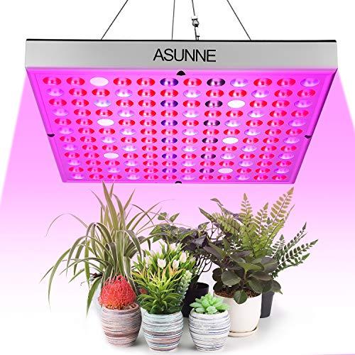 MFEI Luces de Cultivo LED para Plantas de Interior Lámpara de Panel de Planta de Escritorio de Espectro Completo con 144 LED 70w Bombilla de Planta para Frutas, Flores, Verduras, Invernadero 2020