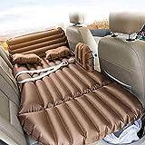 Cama de viaje Cuna coche cama inflable inflable coche cama for el automóvil Cama asiento trasero del coche del niño Amortiguador plegable colchón de aire Inicio Alquiler de auto-conducción 5-12