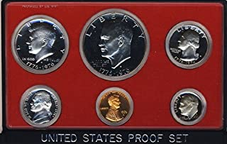 1976 S Clad Proof 5 Coin Set in Original Government Packaging Proof