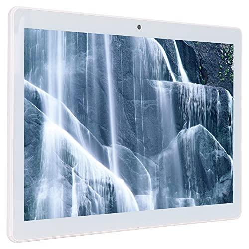 Tableta de 10.1 pulgadas, Tableta de llamada 3G de tarjeta doble 1280 X 800, Pantalla táctil IPS Full HD de 10.1 ', Procesador de cuatro núcleos, con 64 GB de almacenamiento(Enchufe del Reino Unido)