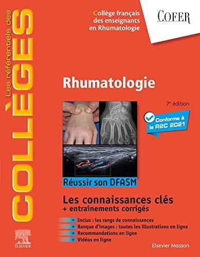 Rhumatologie: Réussir son DFASM - Connaissances clés (les référentiels des collèges) (French Edition)