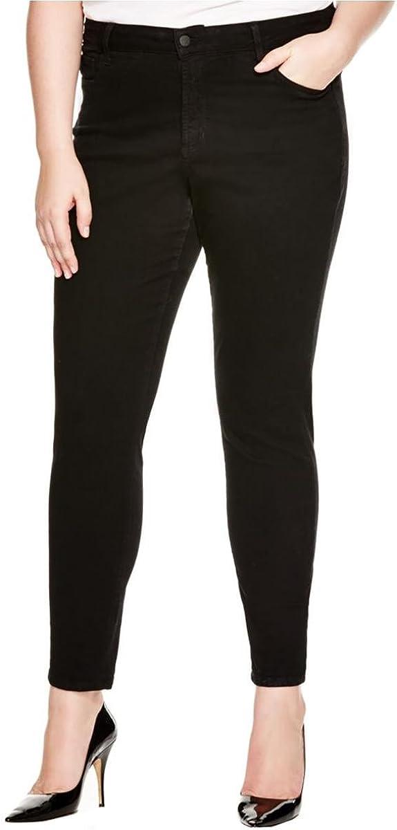 NYDJ Womens Plus Ami Skinny Fit Slimming Denim Leggings