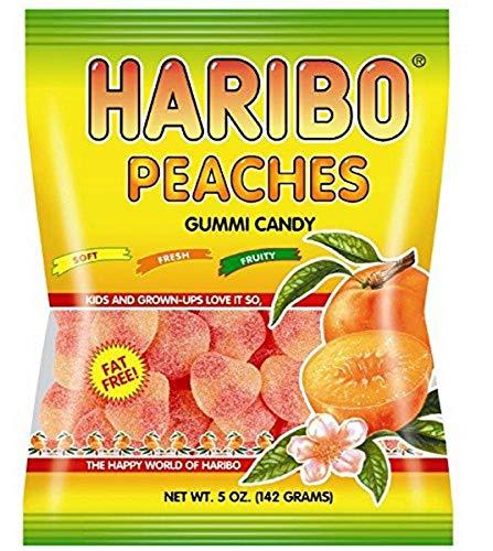 Haribo Peaches 5 oz