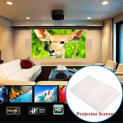 YunBest - Pantalla de proyección plegable para 7000 lúmenes, 600D, 1080p, HD, LED, multimedia, wifi, 3D, proyector de cine en casa, 74 pulgadas BestShop