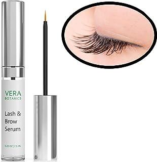 Longer and Thicker Looking Eyelashes & Eyebrows! Vera Botanics Lash & Brow Serum Boosts Enhances