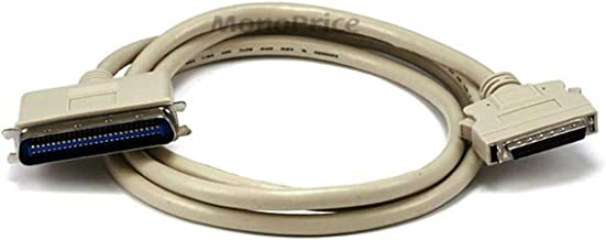 Monoprice 100741 6-Feet HPDB50 M/CN50 M SCSI Cable 25PR (100741), White