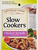 Orrington Farms Chicken Teriyaki Slow Cookers Mix-3 Pouchs-2.5oz each