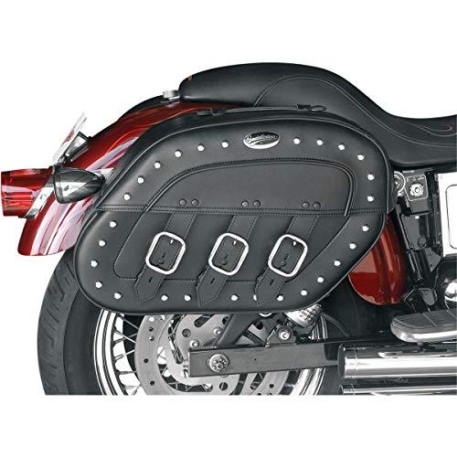 Lowest Price! Saddlemen 3501-0233 Rigid-Mount Quick-Detach Desperado Slant Saddlebag