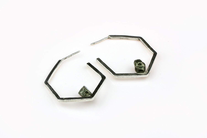 Shizing Handmade Reservation 925 Sterling Silver Earrings Max 70% OFF - Geometric Earrin