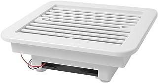 HETUI Ventilateur d'extraction Ventilateur à Lame de Ventilation étanche à l'eau de Refroidissement en Plastique (Blanc)