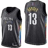 DIMOCHEN Movement Ropa Jerseys de Baloncesto para Hombres, NBA Brooklyn Nets 13# James Harden, cómodo, Camiseta Uniformes Deportivos Tops (Size:M,Color:G1)