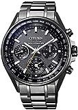 [シチズン] 腕時計 アテッサ F950 Eco-Drive エコ・ドライブGPS衛星電波時計 ブラックチタンシリーズ ダブルダイレクトフライト CC4004-58E メンズ ブラック
