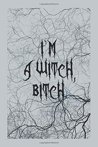 I'm a Witch, Bitch. #5: Funny Celtic Witch quotes Journal Notebook to Write in 6x9 150 lined pages
