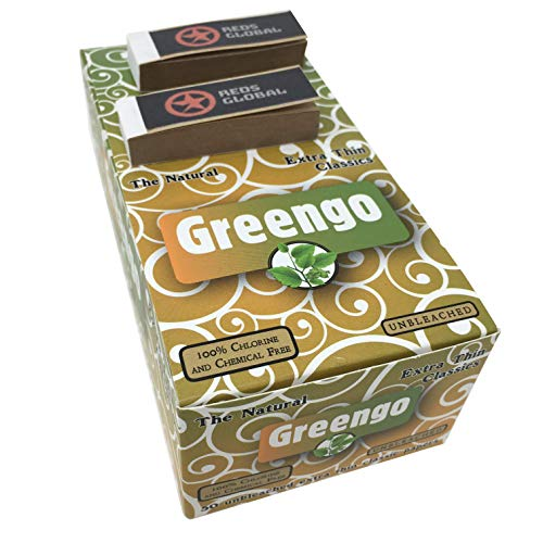 Greengo Products (Regular Size Unbleached Rolling Papers)