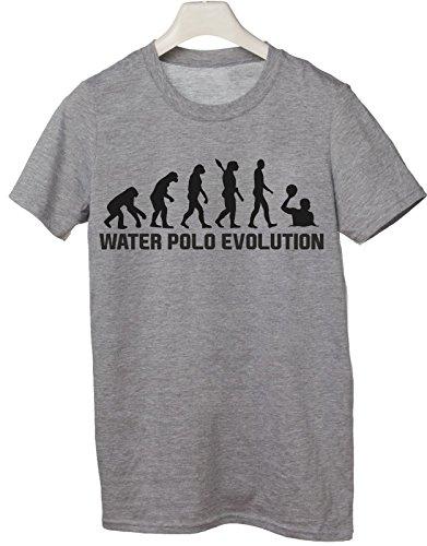 Tshirt Water Polo Evolution - Evolution - Water Polo - pallanuoto - Sport - Humor - in Cotone