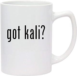 got kali? - 14oz White Ceramic Statesman Coffee Mug