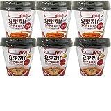 【ヘテ ヨポキ】チーズトッポキ (120g) カップ 3個+カップ甘辛トッポキ (120g) カップ 3個