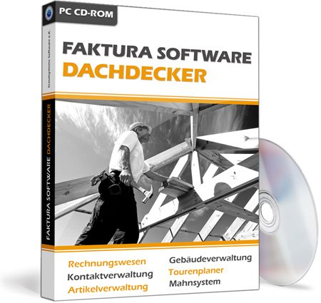 Faktura Software Dachdecker - Rechnungsprogramm
