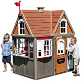 KidKraft Greystone Cottage Playhouse with EZ Kraft Assembly