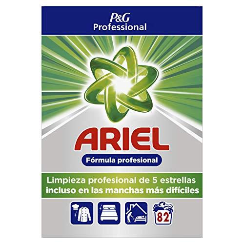 Ariel Detergente en Polvo para Lavadora, Profesional, 5.3 kg, 82 Lavados