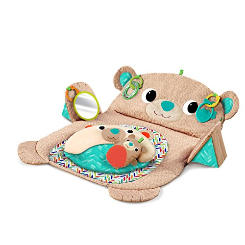 Bright Starts, Tapis d'Eveil Ourson Tummy Time Prop & Play