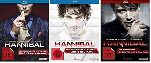 Hannibal - Staffel 1-3 [Blu-ray]