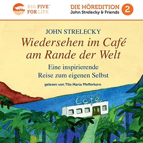 Wiedersehen im Café am Rande der Welt     Eine inspirierende Reise zum eigenen Selbst              Autor:                                                                                                                                 John Strelecky                               Sprecher:                                                                                                                                 Tilo Maria Pfefferkorn                      Spieldauer: 6 Std. und 6 Min.     241 Bewertungen     Gesamt 4,5